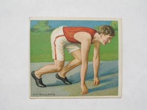 "What today goes as 'interval' training is hardly new. References to ""repetition training"" date back to the early 1900s, back when R.P. Williams (above) was ""especially fast at the 100 yard and 220 yard dashes…trainer of the Berkeley School…[and]…one of the fastest sprinters in the country [who] has turned out several schoolboys that have won many places in interscholastic championships."""