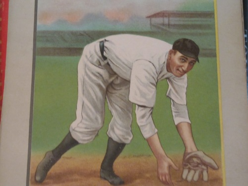 """The prototype good-field, no-hit shortstop, Mickey Doolan of the early 20th Century Phillies."