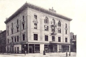 The turn verein at 85th and Lexington where Lou began the transformation into the Iron Horse.
