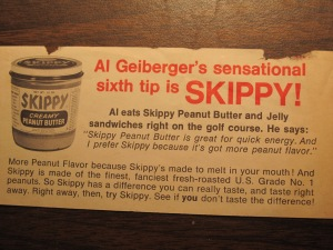 Al Geiberger's sensational sixth tip is SKIPPY!