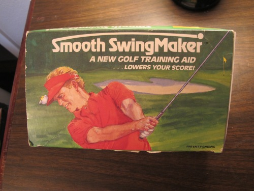"""Ladies and gentlemen, more crippling advice over the centuries of introspection, devotion, and dissection of the golf swing would be hard to find."" The Smooth SwingMaker."